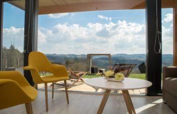 Designhaus, Exklusivhaus, Individuelles Fachwerk-Fertighaus, Modernes Holzhaus, Apartmenthaus