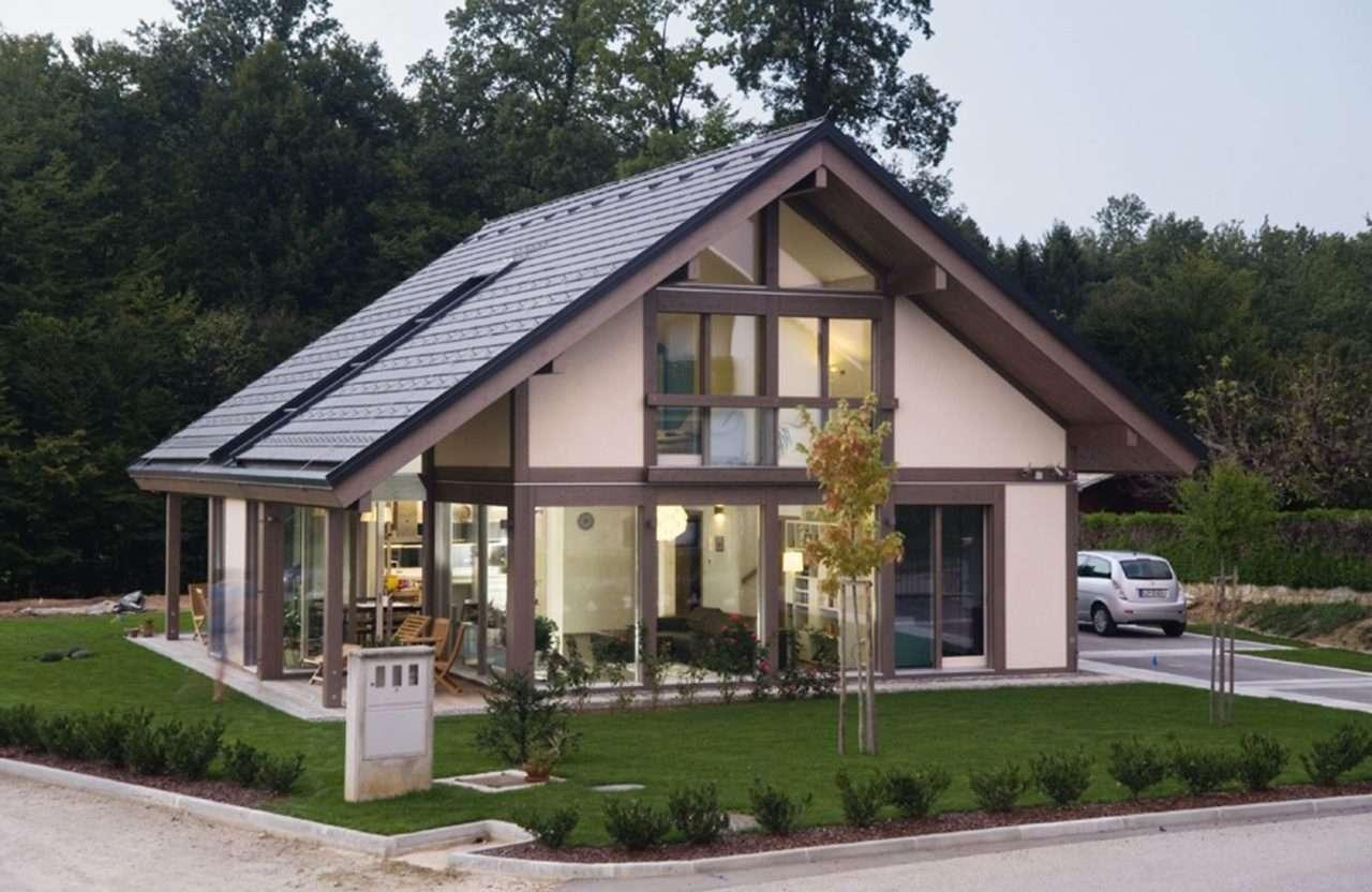 Entspannende architektur for Modernes fachwerkhaus