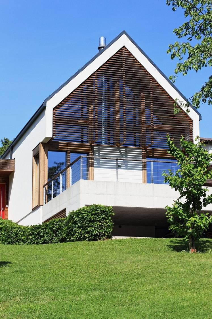 modernes haus bauen lassen fertighaus glas. Black Bedroom Furniture Sets. Home Design Ideas