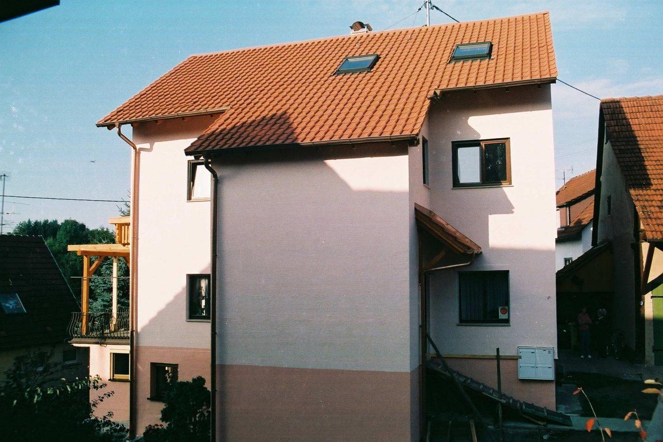 Aufstockung - Backnang - 1993_08